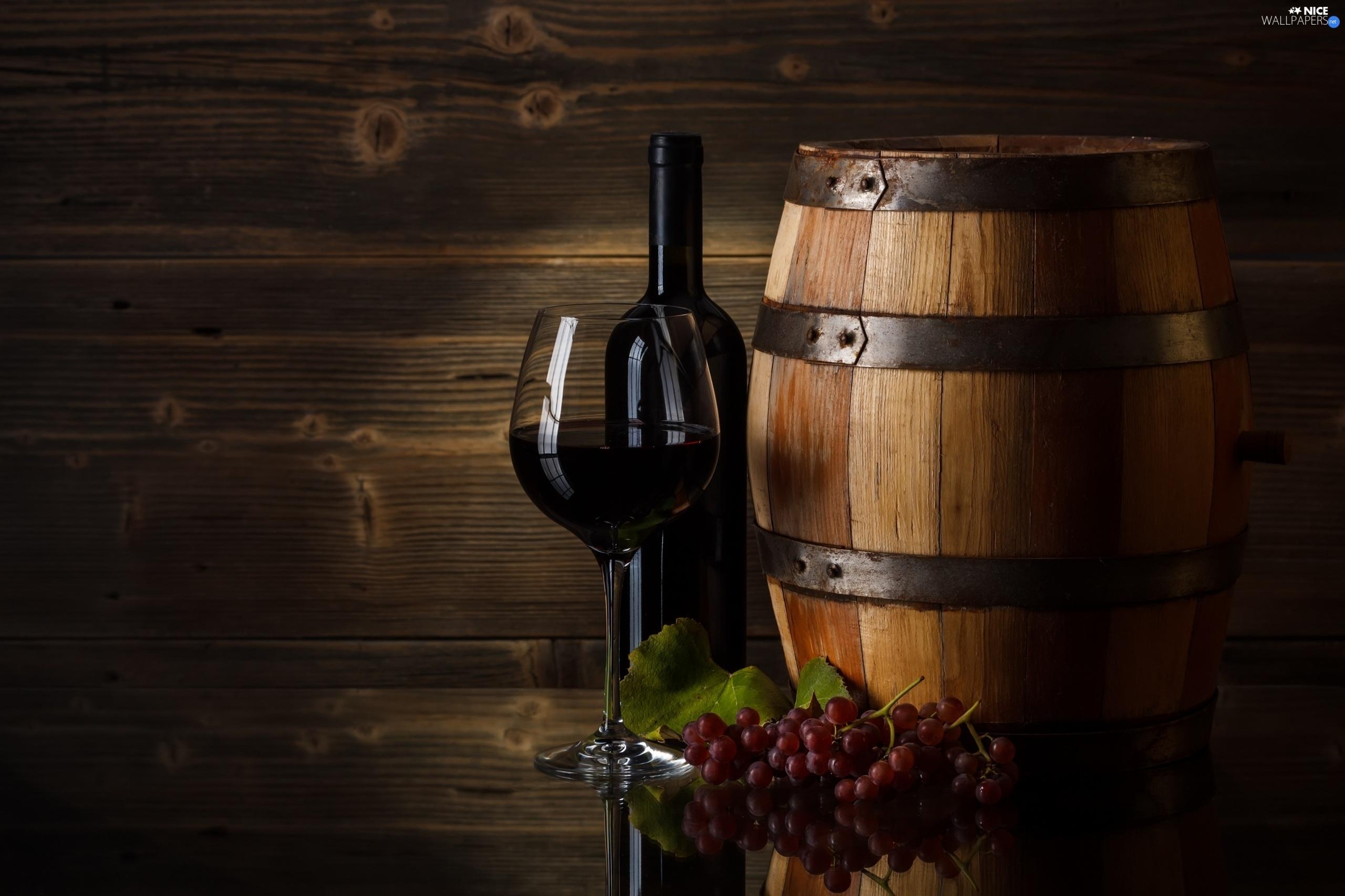 glass, Bottle, barrel, Wine - Nice wallpapers: 2560x1706