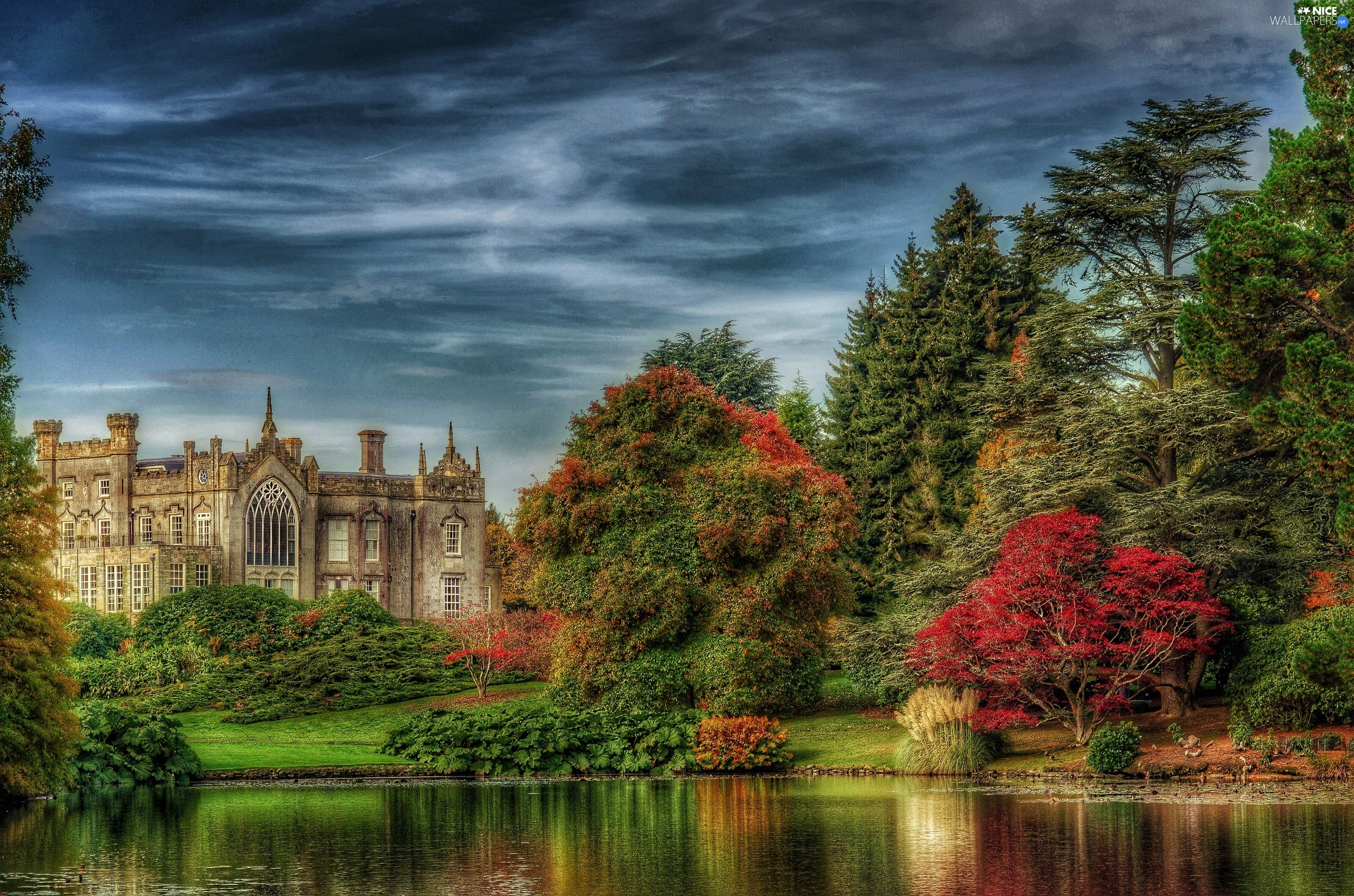 Great Britain, Sheffield Park, HDR