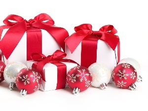 Packaging, baubles, gifts