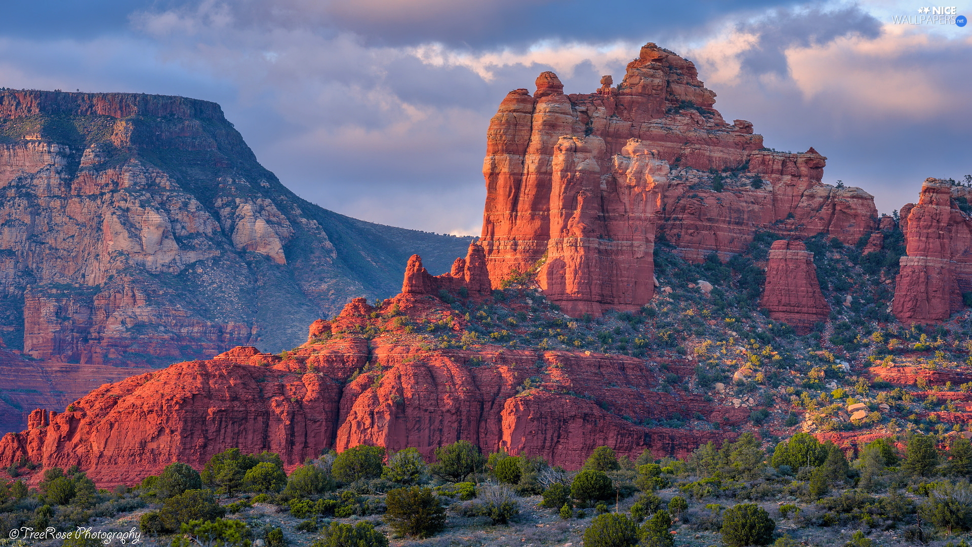 Arizona, The United States, rocks, Sedona, Red
