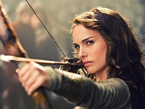 Women, Arrow, Natalie Portman, Bow