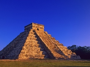 Mexico, Pyramid, Chichen Itza