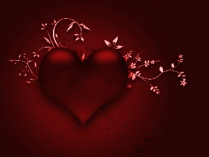 Flowers, Red, Heart