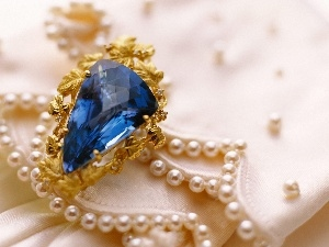 noble, jewellery, Pearl, textile, Stone, brooch
