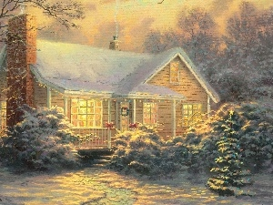 Art Image, Winter, scenery