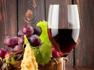 Wines, Grapes, wine glass